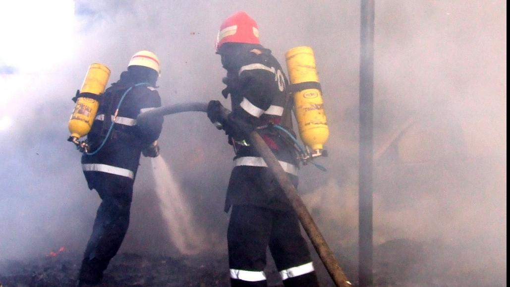 Un restaurant din centrul capitalei a luat foc