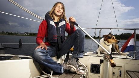 Laura Dekker/Foto: guardian.co.uk
