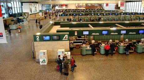 Alertă pe aeroportul Malpensa / FOTO: ansa.it