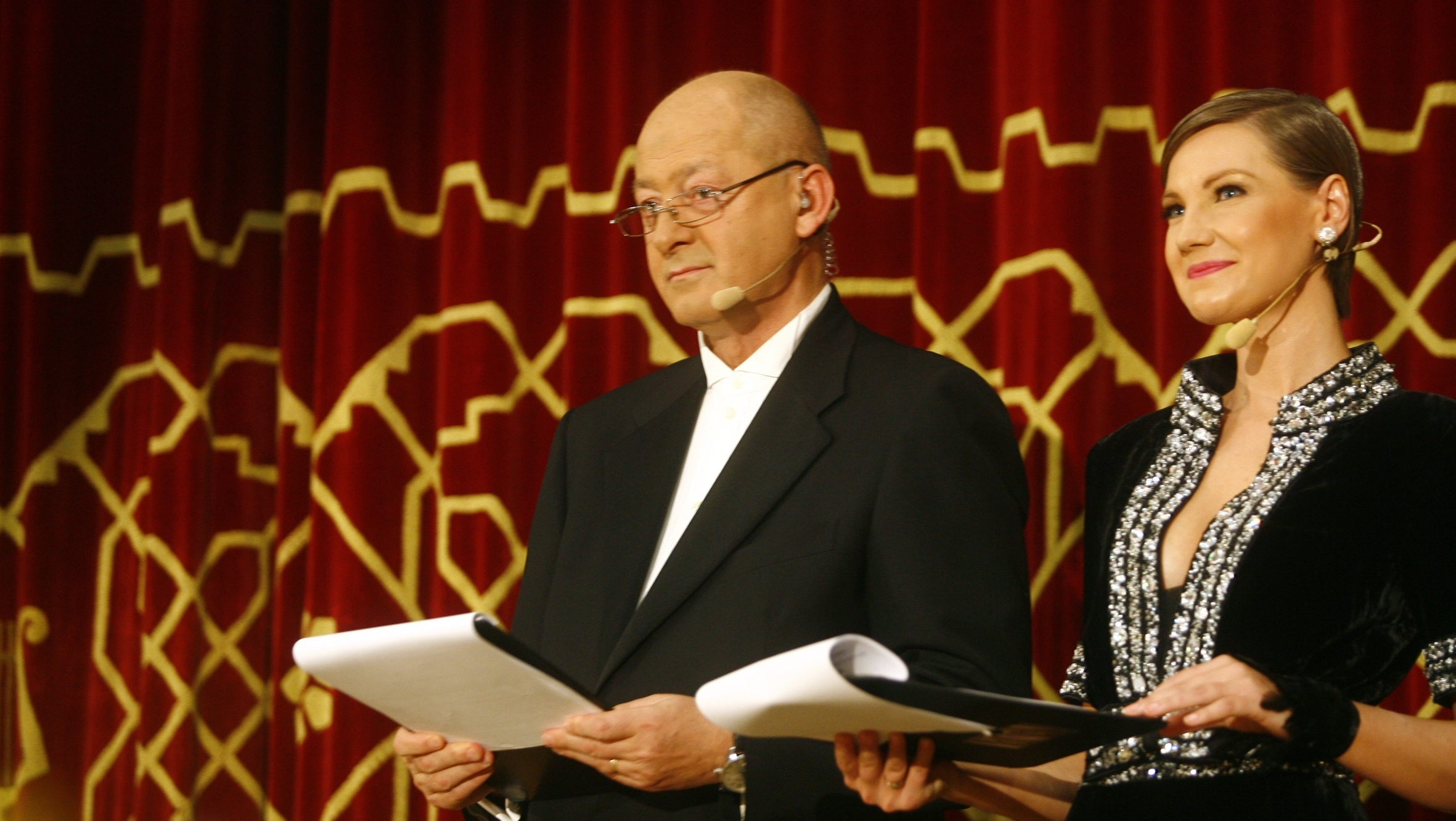 Mihai Tatulici şi Melania Medeleanu la Gala \