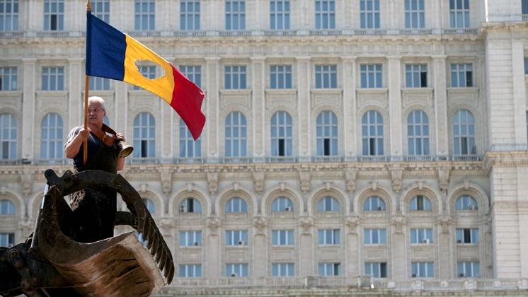 România, blocată în proteste