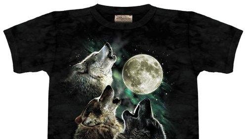 Tricou cu lupi