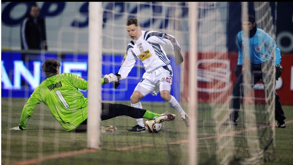 Gigel Bucur a deschis scorul la Zagreb