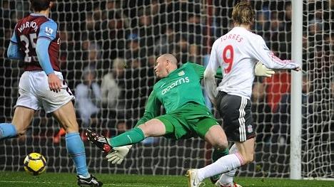 Fernando Torres a marcat golul 50 în Premier League pentru Liverpool / FOTO: http://www.dailymail.co.uk