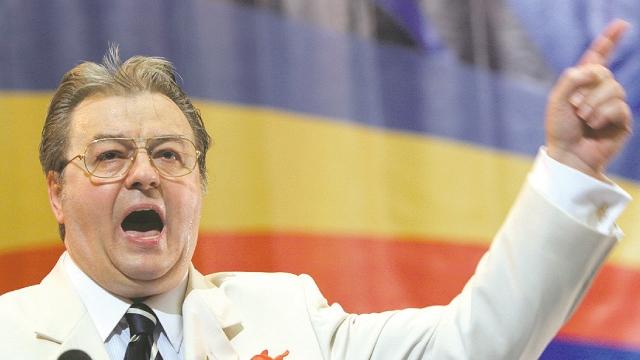 Corneliu Vadim Tudor a fost mereu slobod la gură
