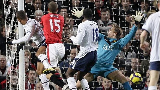 Agbonlahor a adus celor de la Aston Villa prima victorie pe Old Trafford, după mai bine de 26 de ani