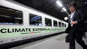 Trenul Climate Express