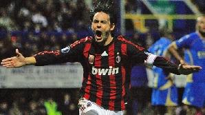 Filippo Inzaghi a deschis drumul Milanului spre sferturile Cupei / FOTO: www.teamtalk.com