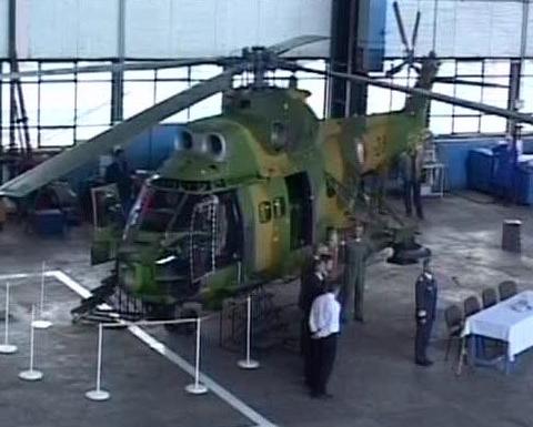 Fabrica de la Ghimbav va deveni cel mai bun loc de reparat elicoptere Puma