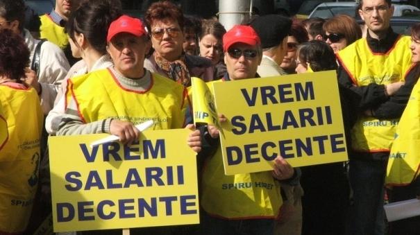 Greva profesorilor / FOTO: agenda.ro