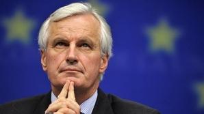 Michel Barnier, comisarul europena pentru Finanţe
