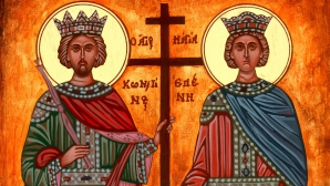 Sfinţii Constantin şi Elena. Trimite un MESAJ, un SMS celor dragi