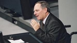 Ministrul de Finanţe german, Wolfgang Schauble