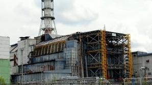 Sarcofagul deasupra reactorului explodat la Cernobîl / FOTO: wordpress.com