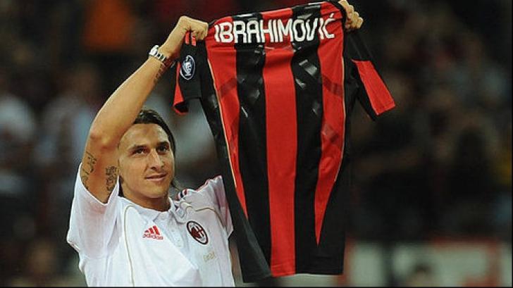 Ibrahimovic primea cel mai mare salariu din Serie A
