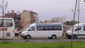 Microbuzele primăriei din Alexandria au avut carburant pentru proteste