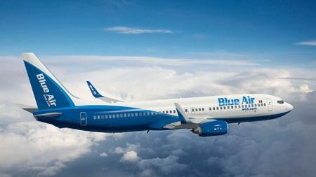 Blue Air dă bilete gratuite către toate destinaţiile