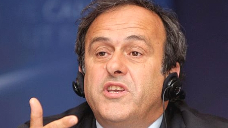 Michel Platini, preşedinte UEFA