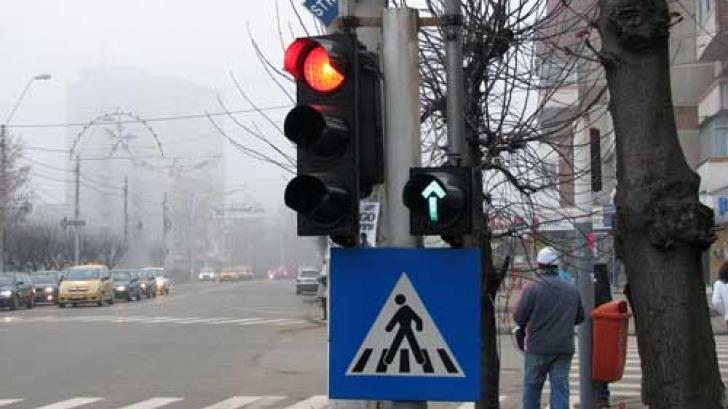 Patron de restaurant, stăpân peste funcționarea semafoarelor din intersecție