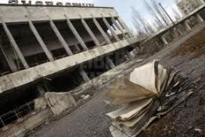 Explozia nucleară a transformat Cernobîlul într-un oraş fantomă.