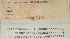 Utilizarea cardului de sănătate, obligatorie din februarie