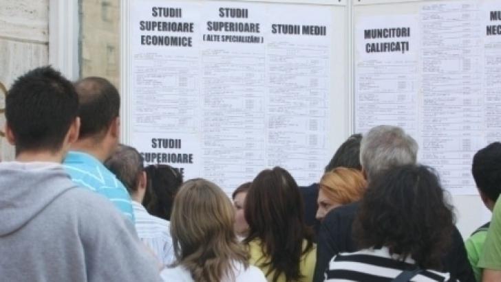 Numărul șomerilor a ajuns la 473.866 de persoane