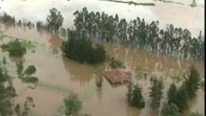 Ploile torenţiale au provocat inundaţii şi alunecări de teren catastrofale în Columbia