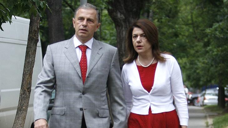 Mihaela şi Mircea Geoană