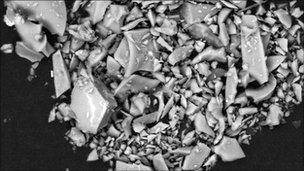 Particule de cenuşă vulcanică / FOTO: BBC