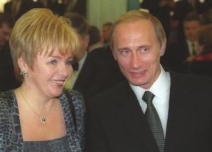 Vladimir şi Liudmila Putin