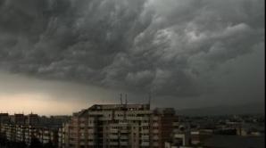 Cod portocaliu de ploi şi vijelii în judeţul Sibiu