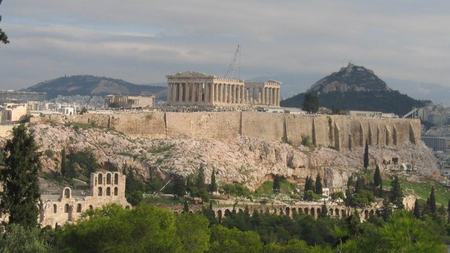 Acropole, numită și fortăreața secretă a Atenei