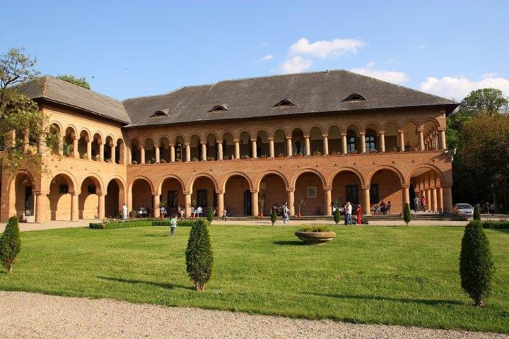 Curtea Palatului Mogoşoaia