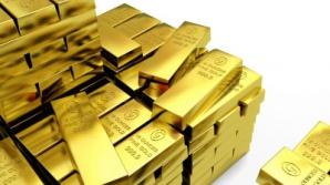 Preţul aurului se prăbuşeşte