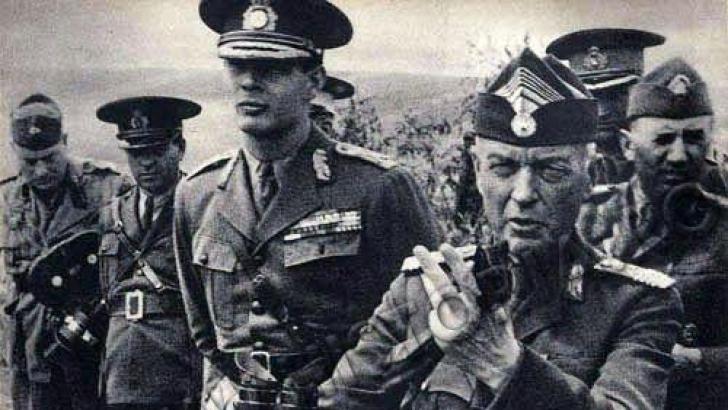 Mareşalul Ion Antonescu şi Regele Mihai