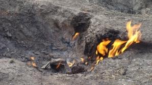 """""""Focul Viu"""", din judetul Buzau, este putin cunoscut turistilor din tara si strainatate"""