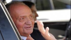 Regele Juan Carlos al Spaniei a fost internat în spital