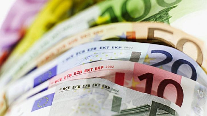 CURS BNR. Euro atinge un nou maxim la cursul BNR
