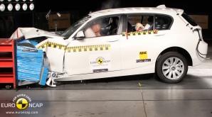 Euro NCAP a publicat lista celor mai sigure maşini testate în 2013