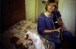 Fotografii rare cu Kurt Cobain