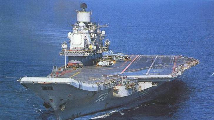 Portavionul rusesc Amiral Kuzneţov