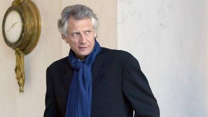 Fostul premier francez, Dominique de Villepin
