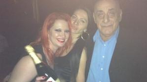 Oana Lis, în club cu soţul