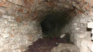Tunelul ce porneste de la conacul Golescu-Grant