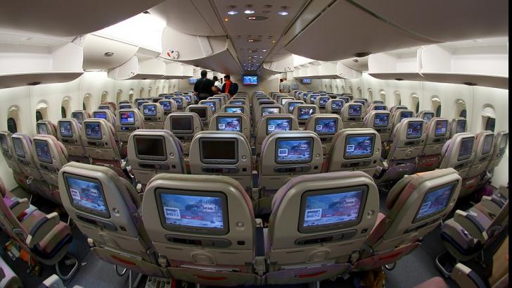 Aşa arată interiorul unui avion Emirates