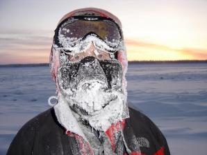 Exploratorul suedez Mikael Strandberg, în plină iarnă siberiană