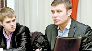 Constantin Adăscăliţei Jr, alături de tatăl său