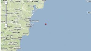 Cutremur in Marea Neagra aseara