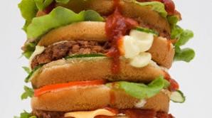 Produsele fast food au un conţinut ridicat de sare