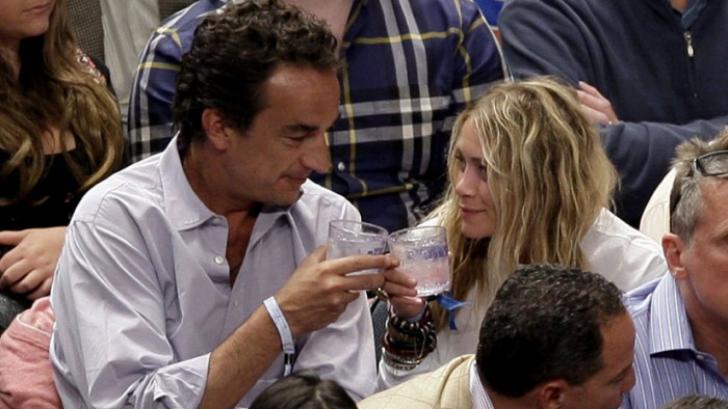 Olivier Sarkozy şi Mary Kate Olsen. Foto: Actucine.fr